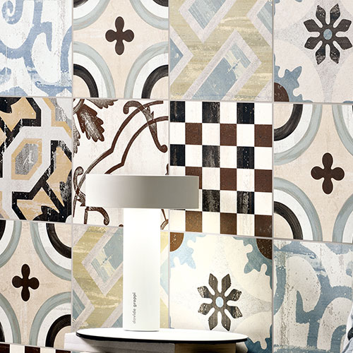 Cementine tiles: a choice of personality, a timeless style